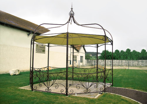 gloriette kiosque pergola 1 alu d coration nuits. Black Bedroom Furniture Sets. Home Design Ideas